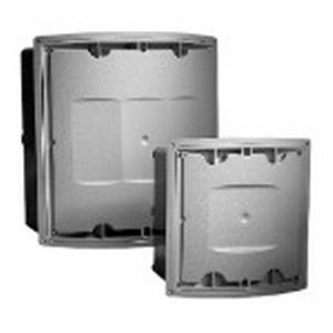 Carlon E1212C24 Curved Lid Junction Box Assembly; 4 Inch Depth, PVC, Surface Mount
