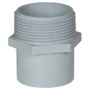 Carlon E920F Conduit Repair Adapter; 1 Inch, MNPT, PVC