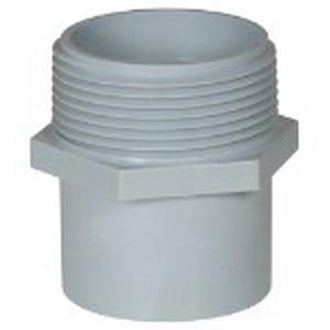 Carlon E920E Conduit Repair Adapter; 3/4 Inch, MNPT, PVC
