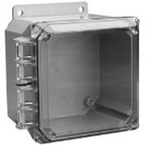 Carlon NC1210L External Hinge Enclosure Lid; Polycarbonate, Clear, For Circuit Safe® NEMA Enclosures