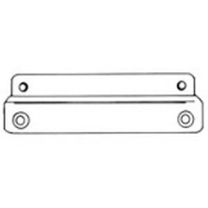 Carlon NMK10V Mounting Rail; For Mounting On Long Or Short Side Of Enclosure