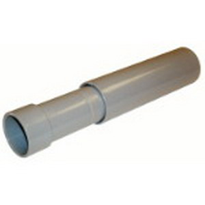 Carlon E945K Schedule 40 Expansion Fitting; 2-1/2 Inch, Female Socket End, 8 Inch Travel Length, 6 Inch Expansion Length, PVC