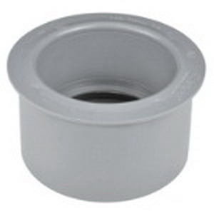 Carlon E950GF SCH 40 Reducing Bushing; 1-1/4 Inch x 1 Inch, 1-15/32 Inch Length, PVC