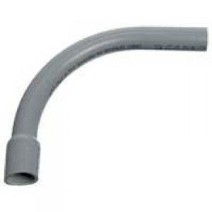 Carlon UA9ADB SCH 40 90 Degree Rigid Non-Metallic Elbow; 1/2 Inch, Belled End, PVC