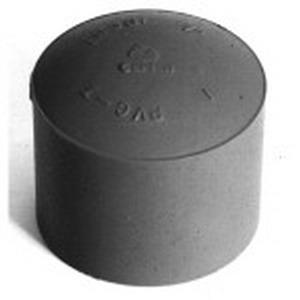 Carlon E958G Pipe End Cap; 1-1/4 Inch, PVC