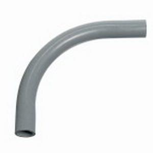 Carlon UB9FK SCH 80 90 Degree Rigid Non-Metallic Elbow; 2-1/2 Inch, Plain, PVC