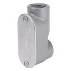 Red Dot ASLB-4 Service Entrance Body With Cover and Gasket; 1-1/4 Inch, Threaded, Copper-Free Die-Cast Aluminum