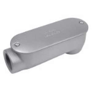 Red Dot ASLB-XL6 Service Entrance Body With Cover and Gasket; 2 Inch, Threaded, Copper-Free Die-Cast Aluminum