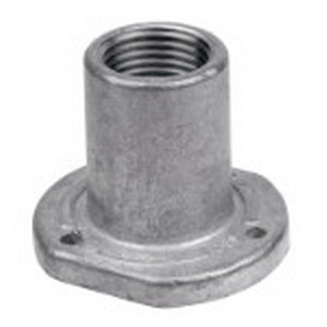 Red Dot ES-3 Straight Insert; 1 Inch, Threaded, Die-Cast Aluminum