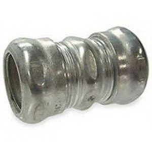 Hubbell Electrical / RACO 2925RT Raintight Compression Coupling 1-1/4 Inch  Steel