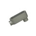 Halex 59620B Type LB Conduit Body; 2 Inch, Threaded, Copper-Free Die-Cast Aluminum