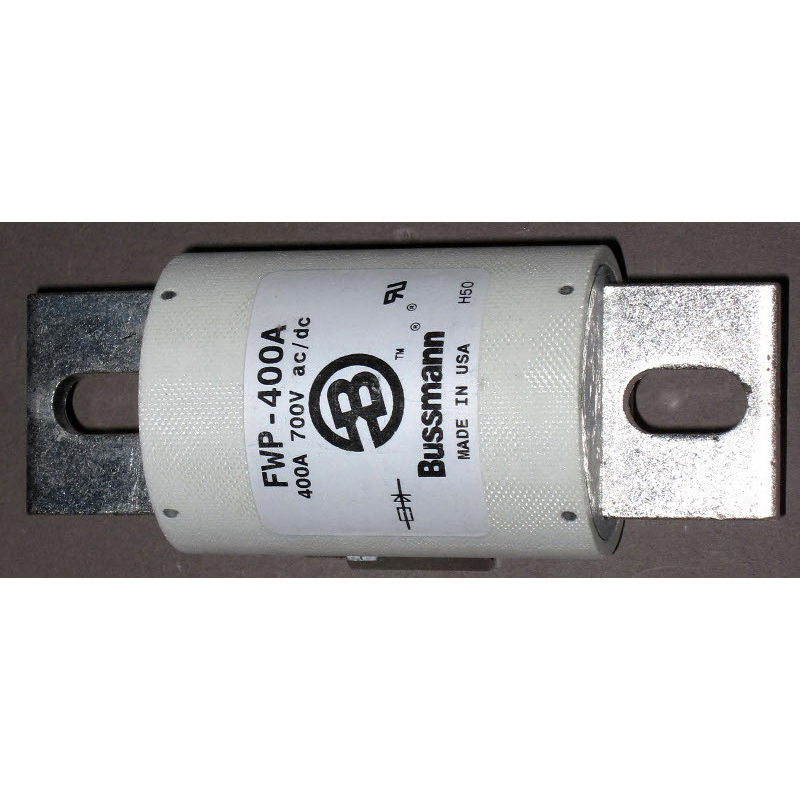 Bussmann FWP-400A High Speed Blade Fuse; 400 Amp, 700 Volt