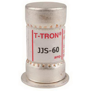 Bussmann JJS-60 T-Tron® Class T Very Fast-Acting Fuse; 60 Amp, 600 Volt AC
