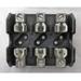 Bussmann T60030-3CR T600 Series Fuse Block; 1/2 - 30 Amp, 600 Volt