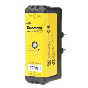 Bussmann TCF80 Low-Peak® CubeFuse® Class J Time-Delay Fuse; 80 Amp, 600 Volt AC/300 Volt DC