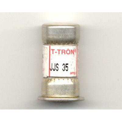 Bussmann JJS-35 T-Tron® Class T Very Fast-Acting Fuse; 35 Amp, 600 Volt AC