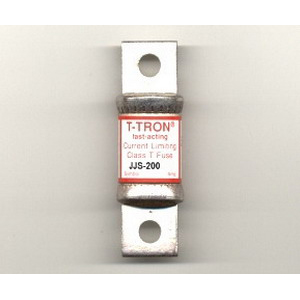 Bussmann JJS-200 T-Tron® Class T Very Fast-Acting Blade Fuse; 200 Amp, 600 Volt AC