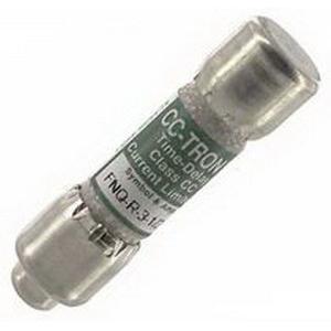 Bussmann FNQ-3-1/2 T-Tron® Midget Time-Delay Fuse; 3-1/2 Amp, 500 Volt AC