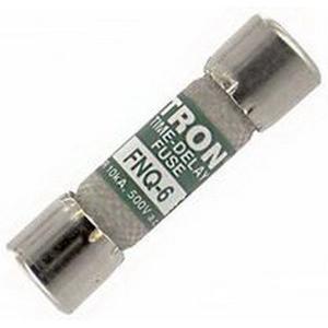 Bussmann FNQ-6 T-Tron® Midget Time-Delay Fuse; 6 Amp, 500 Volt AC