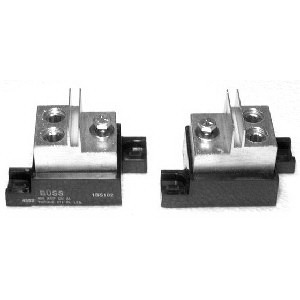 Bussmann 1BS102 Modular Fuse Block; 400 Amp, 600 Volt, Stud Mounting