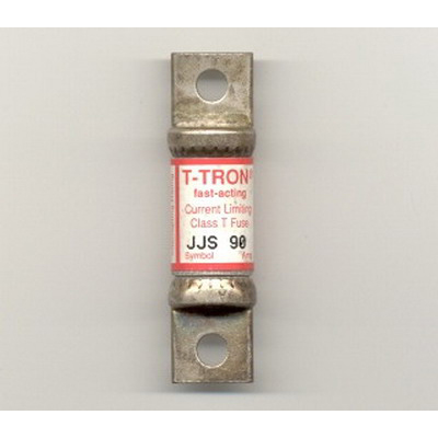 Bussmann JJS-90 T-Tron® Class T Very Fast-Acting Blade Fuse; 90 Amp, 600 Volt AC