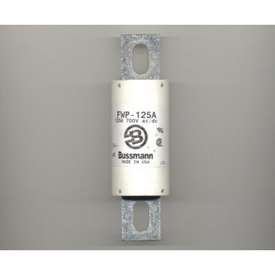 Bussmann FWP-125A High Speed Blade Fuse; 125 Amp, 700 Volt