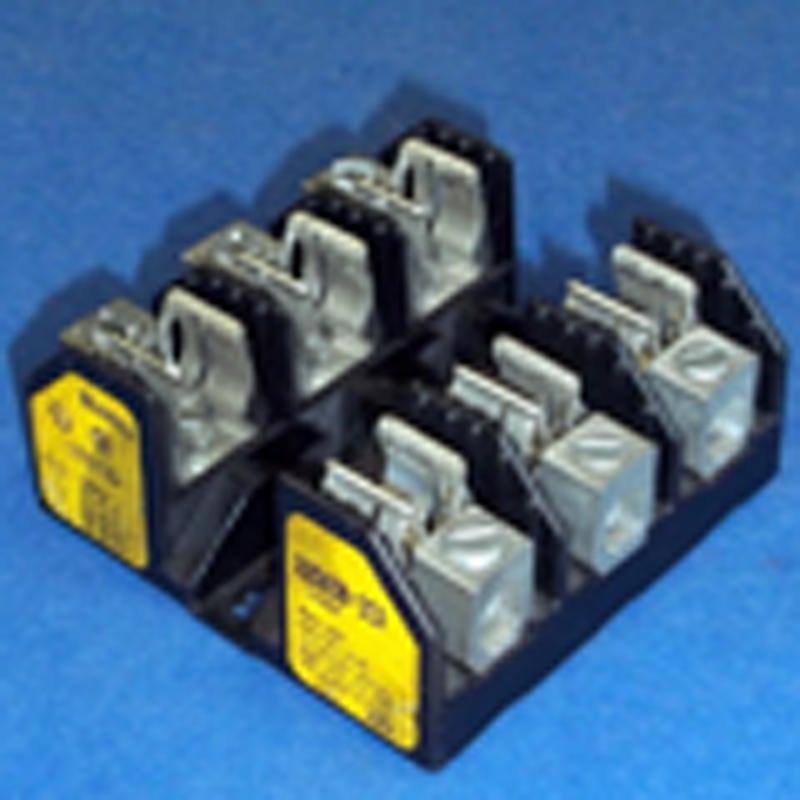 Bussmann R25030-3CR R250 Series Fuse Block; 1/10 - 30 Amp, 250 Volt