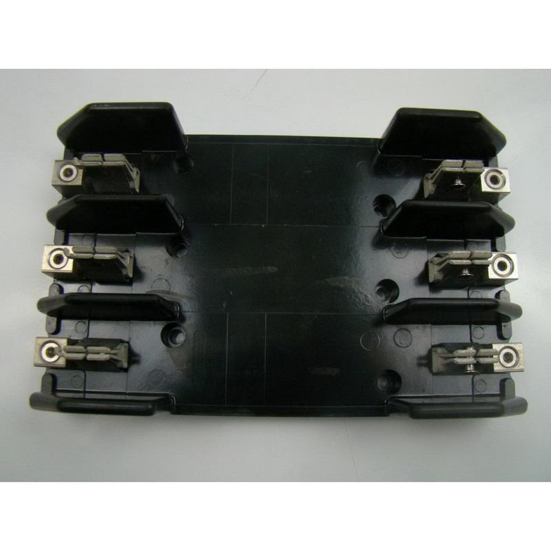 Bussmann R60100-3CR R600 Series Fuse Block; 61 - 100 Amp, 600 Volt