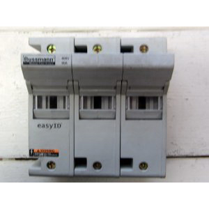 Bussmann CH60J3 CH Series Modular Fuse Holder; 35 - 60 Amp, 600 Volt AC/DC, 35 mm DIN-Rail/Panel Mounting