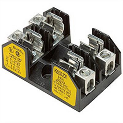 Bussmann R25030-2CR R250 Series Fuse Block; 1/10 - 30 Amp, 250 Volt