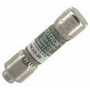 Bussmann FNQ-R-3/4 Limitron® Class CC FNQ-R Time-Delay Fuse; Rejection-Type Fuse, 3/4 Amp, 600 Volt AC