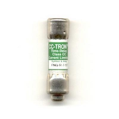 Bussmann FNQ-R-7-1/2 Limitron® Class CC FNQ-R Time-Delay Fuse; Rejection-Type Fuse, 7-1/2 Amp, 600 Volt AC