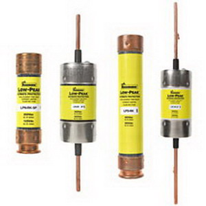 Bussmann LPS-RK-1-1/4SP Low-Peak® Class RK1 Time-Delay Fuse; 1-1/4 Amp, 600 Volt AC/300 Volt DC