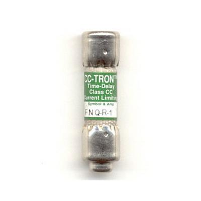Bussmann FNQ-R-1 Limitron® Class CC FNQ-R Time-Delay Fuse; Rejection-Type Fuse, 1 Amp, 600 Volt AC