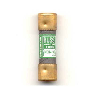 Bussmann NON-30 Class K5 One-Time General Purpose Fuse; 30 Amp, 250 Volt AC/125 Volt DC