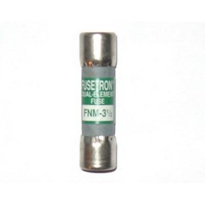 Bussmann FNM-3-1/2 Fusetron® Time-Delay Fuse; 3-1/2 Amp, 250 Volt AC