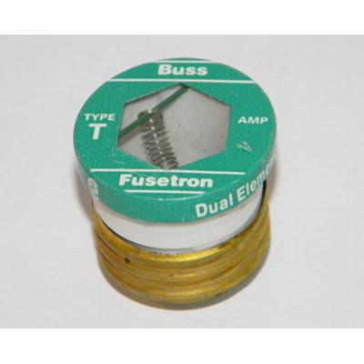 Bussmann T-4 Time-Delay Plug Fuse; 4 Amp, 125 Volt AC