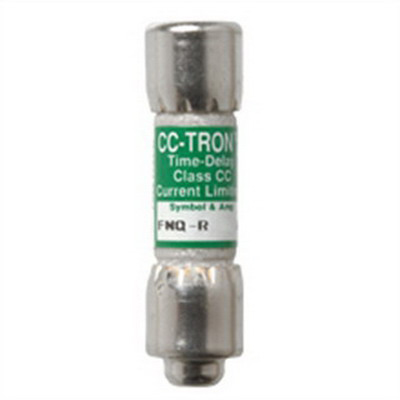 Bussmann FNQ-R-2-1/4 Limitron® Class CC FNQ-R Time-Delay Fuse; Rejection-Type Fuse, 2-1/4Amp, 600 Volt AC