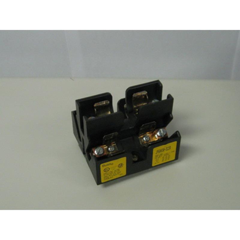 Bussmann JP60030-3COR Fuse Block; 30 Amp, 600 Volt, Panel Mounting