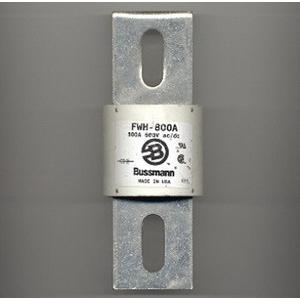 Bussmann FWH-800A High Speed Blade Fuse; 800 Amp, 500 Volt AC/DC