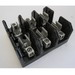 Bussmann J60030-3CR J600 Series Fuse Block; 1/2 - 30 Amp, 600 Volt, DIN-Rail Mounting