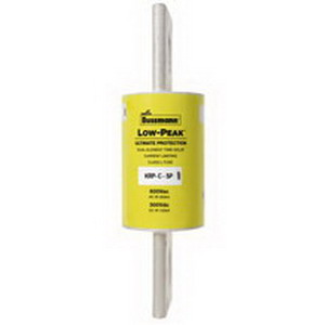 Bussmann KRP-C-1600SP Low-Peak® Class L Time-Delay Blade Fuse; 1600 Amp, 600 Volt AC/300 Volt DC