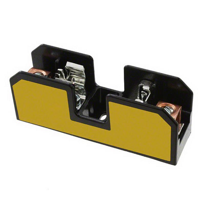 Bussmann BC6031B BC Series Fuse Block; 1/10 - 30 Amp, 600 Volt, DIN-Rail Mounting