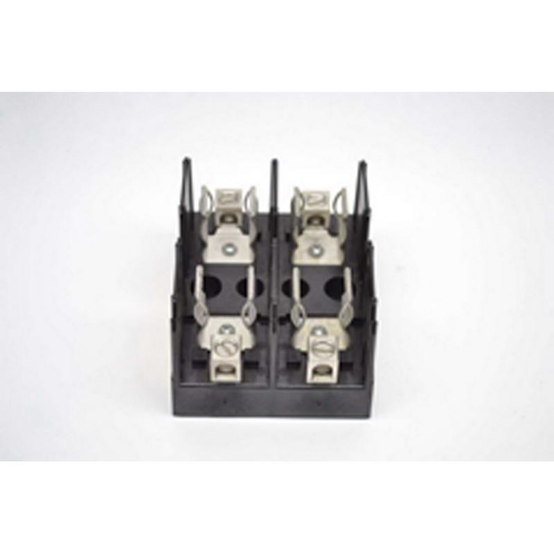 Bussmann J60060-2C J600 Series Fuse Block; 31 - 60 Amp, 600 Volt, DIN-Rail Mounting