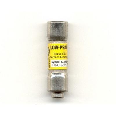 Bussmann LP-CC-3-1/2 Low-Peak® Class CC Time-Delay Fuse; 3-5/10 Amp, 600 Volt AC/150 Volt DC