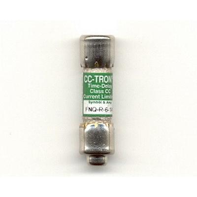 Bussmann FNQ-6-1/4 T-Tron® Midget Time-Delay Fuse; 6-1/4 Amp, 500 Volt AC
