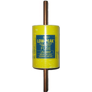 Bussmann LPJ-500SP Low-Peak® Class J Time-Delay Blade Fuse; 500 Amp, 600 Volt AC/300 Volt DC