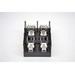 Bussmann J60060-2CR J600 Series Fuse Block; 31 - 60 Amp, 600 Volt, DIN-Rail Mounting