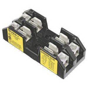 Bussmann G30060-2CR Fuse Block; 60 Amp, 480 Volt, DIN-Rail Mounting