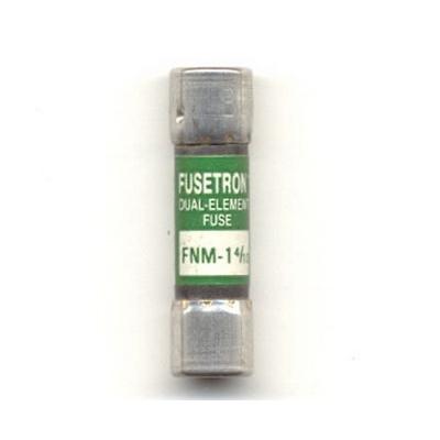 Bussmann FNM-1-4/10 Fusetron® Midget Time-Delay Fuse; 1-4/10 Amp, 250 Volt AC